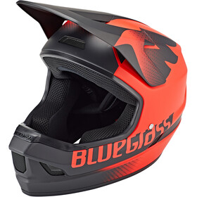 bluegrass Legit Casco, red/black texture matte